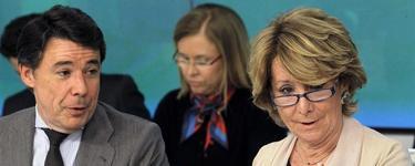 Ignacio González y Esperanza Aguirre | EFE