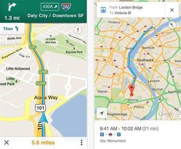 Google Maps vuelve a los dispositivos iOS 6   Google