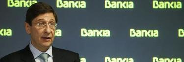 José Ignacio Goirigolzarri, durante la presentación de los resultados de 2012, EFE