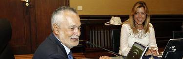 José Antonio Griñán y Susana Díaz | Archivo