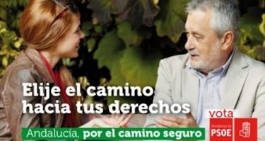 Cartel con faltas de ortografía del PSOE | @llorente_r