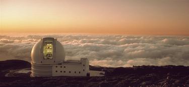 El telescopio William Herschel, situado en Roque de los Muchachos, La Palma de Gran Canaria.   Corbis Images