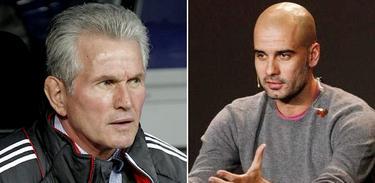 Jupp Heynckes y Pep Guardiola, presente y futuro del banquillo del Bayern. | LD