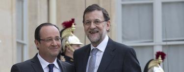 Rajoy, junto a Hollande en París | Diego Crespo