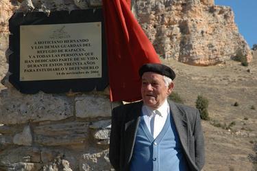Hoticiano Hernando, durante el homenaje que le rindieron en 2004   Foto: Juan Carlos Rincón García