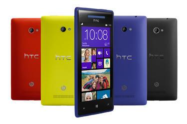 HTC Windows 8X, el terminal de gama alta.   HTC