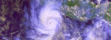 Imagen de Raymond tomada este domingo   Servicio Meteorológico Nacional
