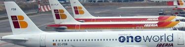 Aviones de Iberia en Barajas | Archivo