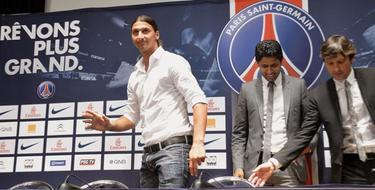 Ibrahimovic, delantero del Paris Saint-Germain, es uno de los jugadores mejor pagados del mundo. | Archivo
