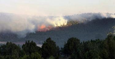 Incendio en el Alto Tajo (Guadalajara)   Efe