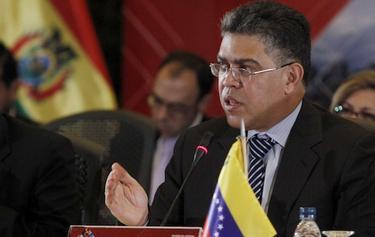 El ministro de Exteriores venezolano
