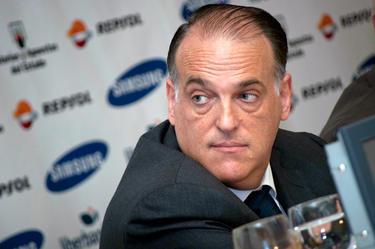 Javier Tebas, presidente de la LFP | David Alonso Rincón.