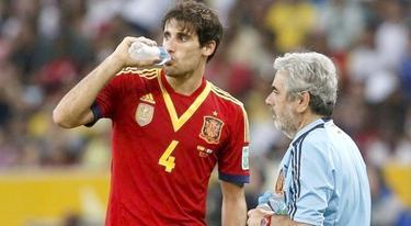 Javi Martínez, durante el partido ante Italia. | Archivo