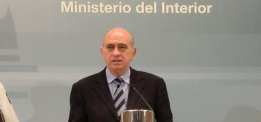 Jorge Fernández Díaz, este sábado en el Ministerio del Interior | Ministerio del Interior