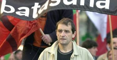 Josu Ternera, durante una manifestación del brazo político de ETA. | Archivo