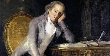 Cuadro de Jovellanos pintado por Goya