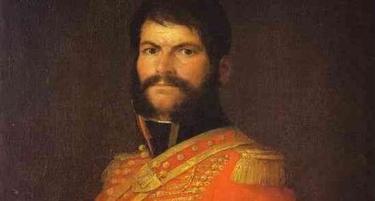 Detalle del retrato de Juan Martín 'El Empecinado', obra de Francisco Goya