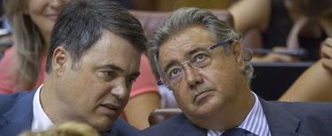 Carlos Rojas y Juan Ignacio Zoido, este miércoles | Efe