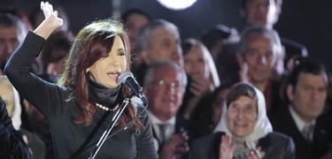 La presidenta argentina en uno de sus discursos | Archivo