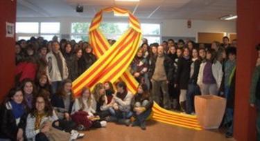 Campaña en un instituto de Felanitx
