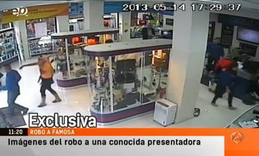 Una imagen del vídeo de seguridad