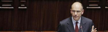 El nuevo primer ministro italiano, Enrico Letta, este lunes | Efe