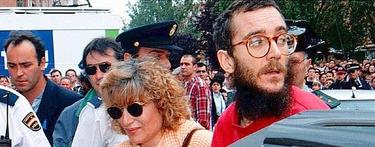 Ortega Lara, tras su liberación   Archivo