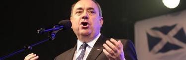 Alex Salmond, durante una conferencia en Edimburgo | Efe