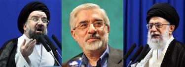 Jatami, Musaví y Jameinei