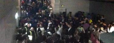 Imagen de uno de los pasillos del Madrid Arena durante la trágica fiesta