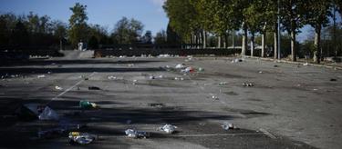 Aspecto del párking del Madrid Arena al día siguiente de la tragedia | Cordon Press