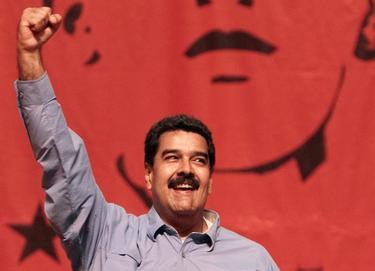 Maduro durante un acto del Gobierno en Caracas | EFE