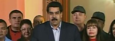 Nicolás Maduro informa de la operación | Imagen TV