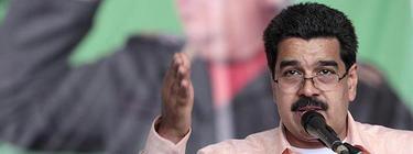 Maduro, en un acto en Venezuela hace tres días | EFE