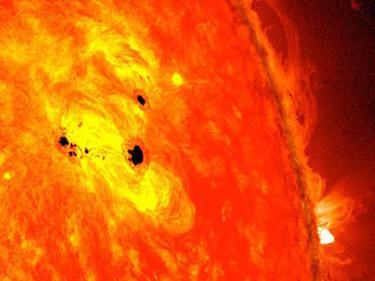 Inmensa mancha solar captada por la NASA. | NASA