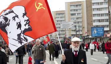 Nostálgicos del régimen totalitario soviético en Moscú | Cordon Press