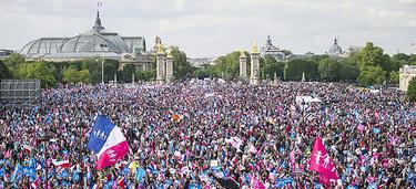 Una imagen de la manifestación | EFE