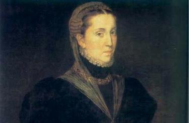 Maria Manuela de Portugal, pintada por Juan Pantoja de la Cruz