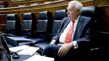 José Manuel García Margallo hoy en el Congreso | EFE