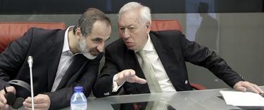 Moaz Jatib y García Margallo | EFE
