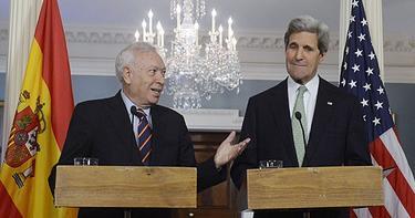 Margallo, junto a Kerry este martes | EFE