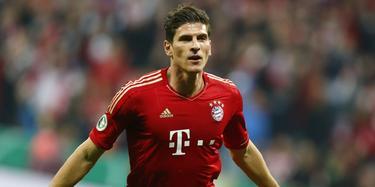 Mario Gómez celebra un gol con el Bayern de Múnich.   Cordon Press