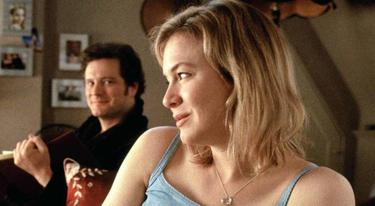 Colin Firth y Renee Zellgeger en El diario de Bridget Jones