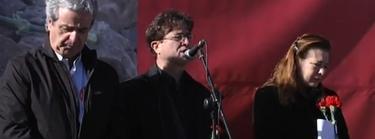 José Ricardo Martínez, Javier López y Pilar Manjón | Imagen TV