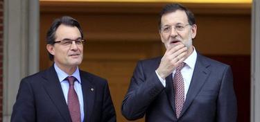 Artur Mas y Mariano Rajoy | Archivo