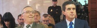 Alemany y Matas durante el juicio. | Archivo