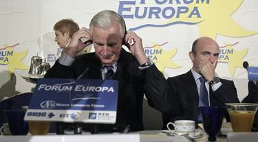 Michel Bernier, durante su participación en Forum Europa.