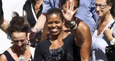 Michelle Obama, en Ronda en 2010   Efe