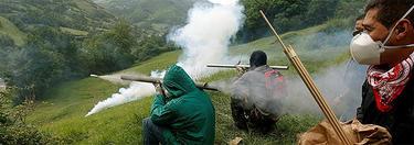 Mineros 'luchando' contra el recorte de las ayudas en 2012 | Archivo