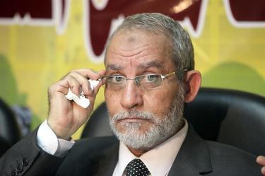 El líder de los Hermanos Musulmanes detenido en agosto.   Archivo